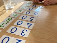 Montessori maths cards